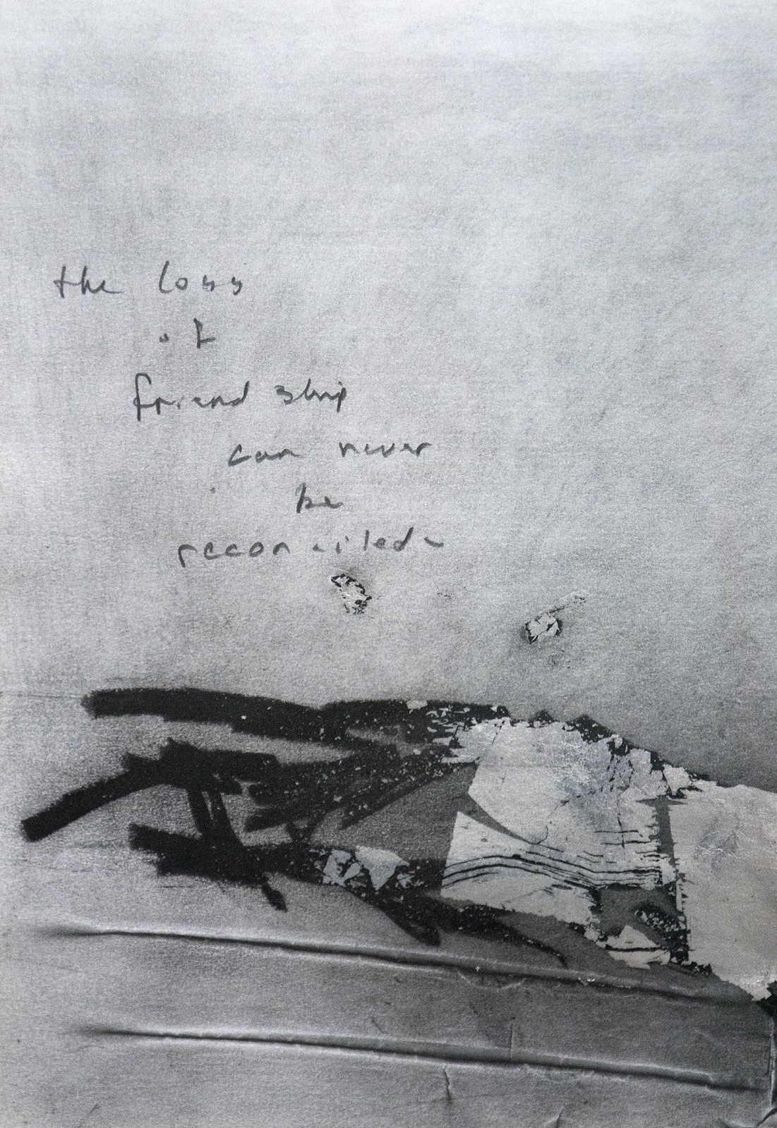 loss of friendship